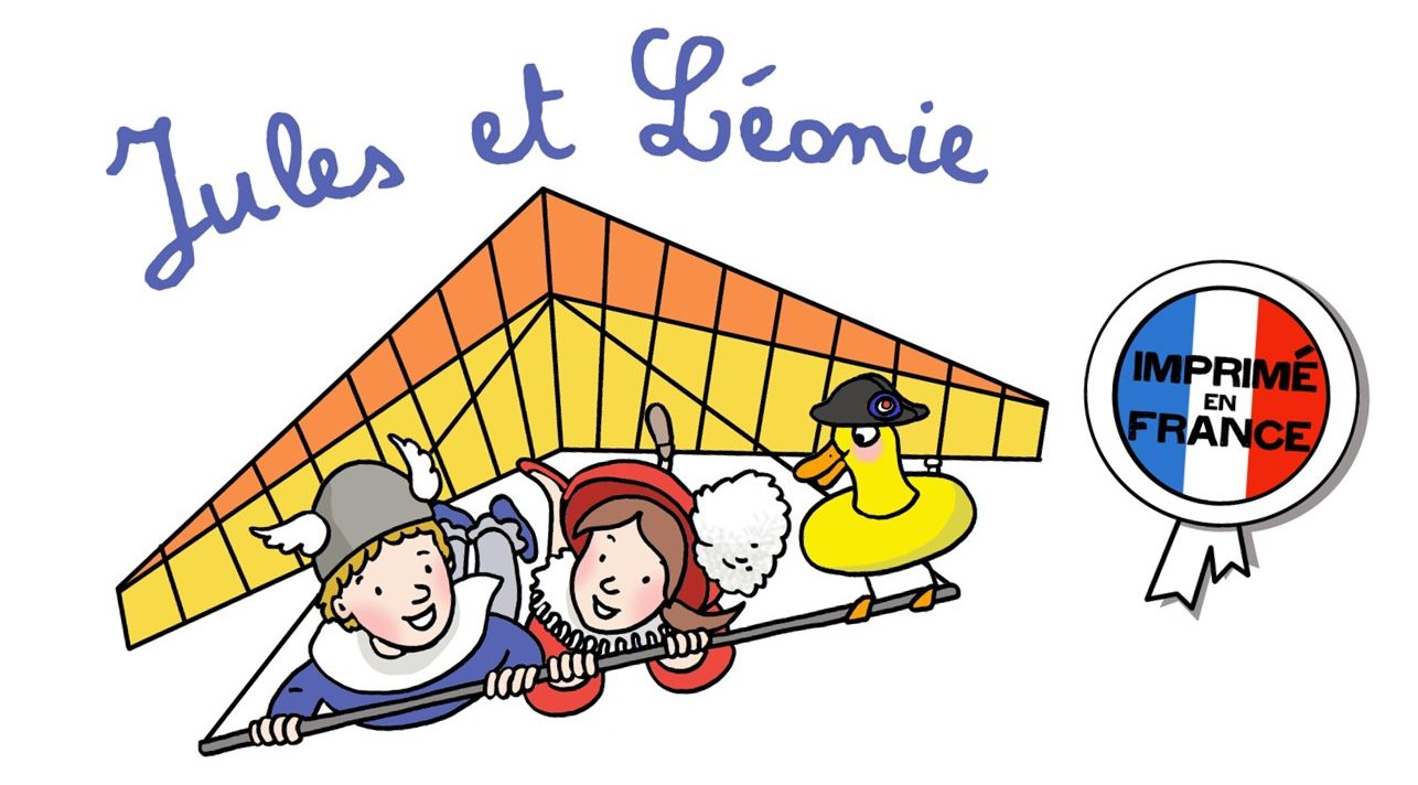 Cahiers de vacances Jules et Léonie